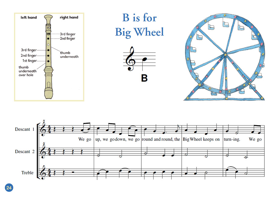 Treble recorder music for schools by heather ward ccuart Image collections